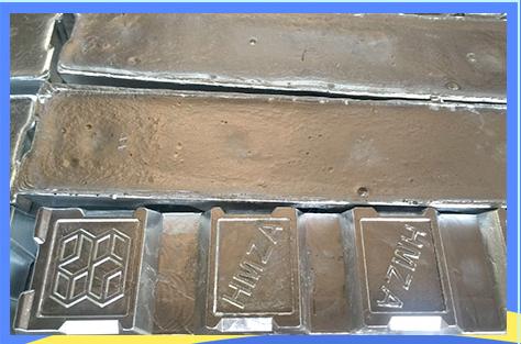压铸锌合金锭