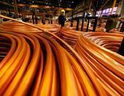 COMEX期铜收跌 因中国下修今年经济增长目标