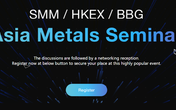 Join us at Asia Metals Seminar in Hong Kong