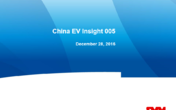 China EV Insight 005