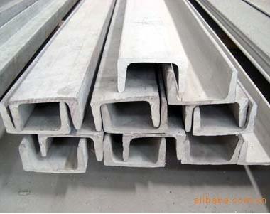 鑫源不锈钢 314槽钢 酸石表面 非标定制