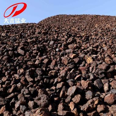 湖南厂家现货 洗炉锰矿石1-8公分Mn18-35洗炉锰原锰单锰低锰块