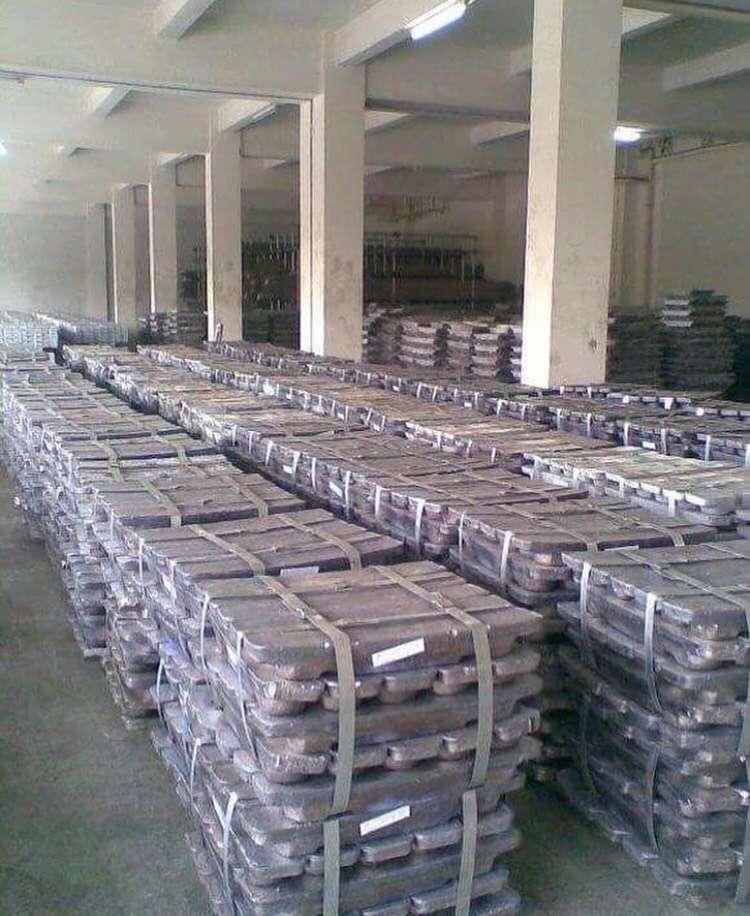 俄标99.994%铅锭