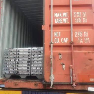 越南印度西班牙意大利韩国西班牙泰国进口ADC12/Si8Cu3/95%-98% 铝锭