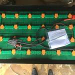 霍克24-D-210仓库电动叉车电池48V210Ah TCM铲车FBR13-6电池组