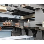 江苏七子建设Q235钢结构加工工业厂房