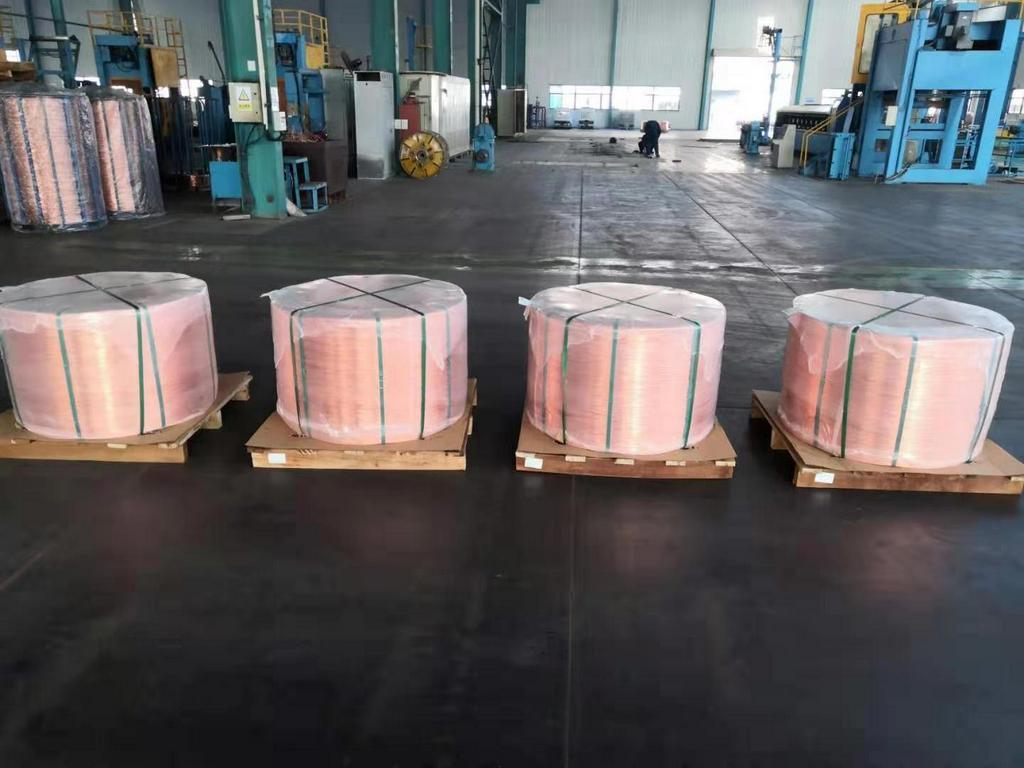 长期供应铜杆线铜丝