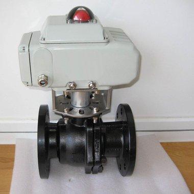 进口电动0型切断球阀