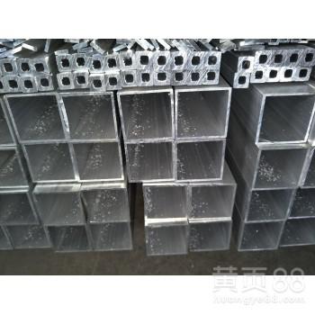 天津6061T6铝合金方管型材现货铝方管