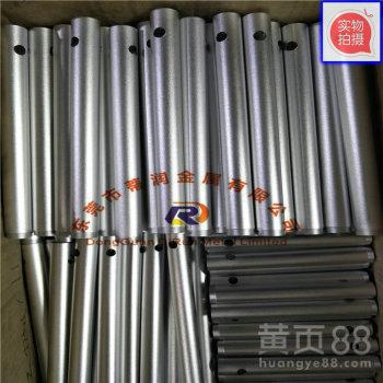 阳极氧化铝管彩色铝管硬质氧化6063铝合金管铝管喷砂氧化加工