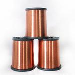 供应 漆包铜线绝缘高温单芯铜线彩色漆包线耐热电磁线导电线