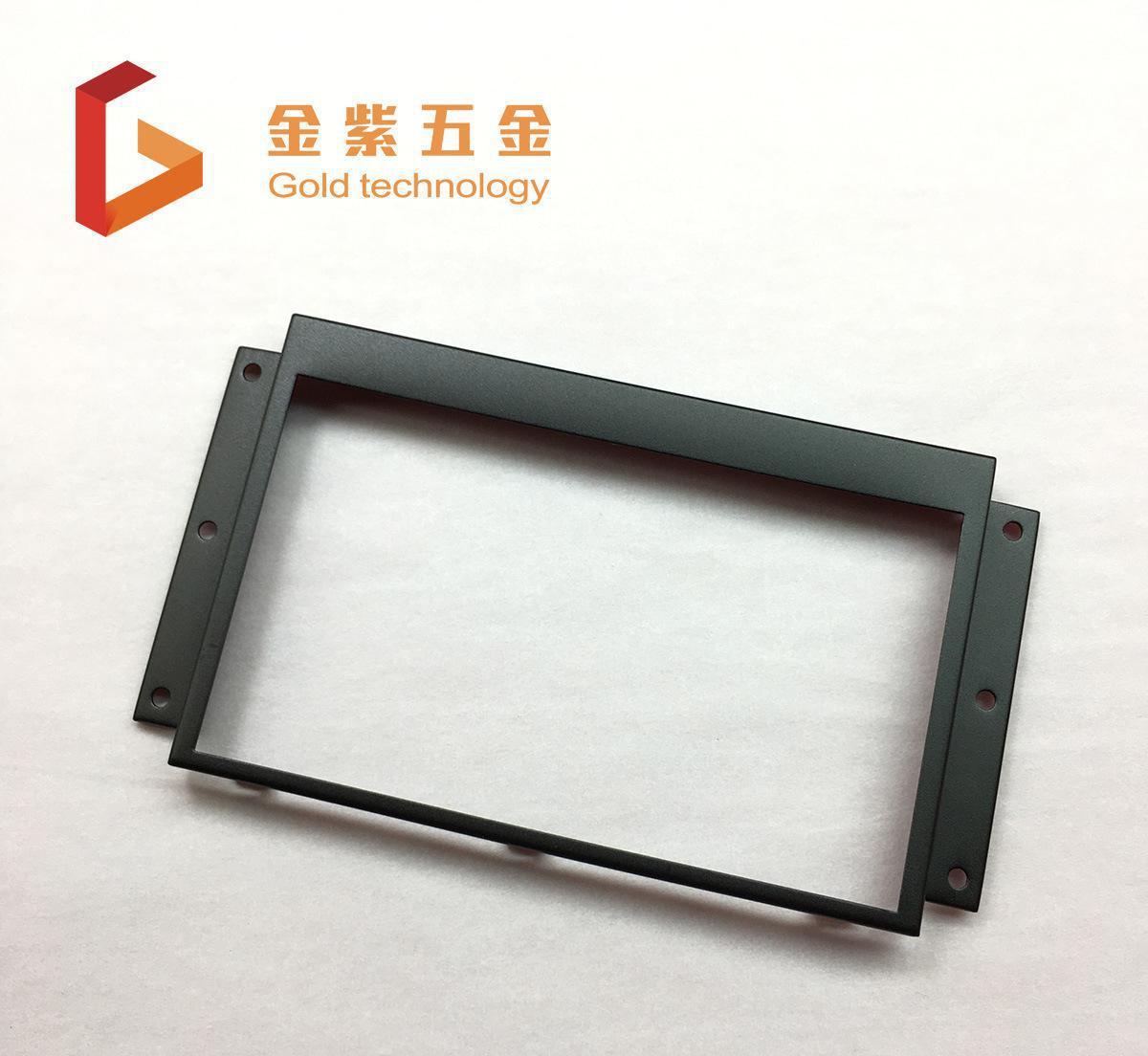 深圳电镀厂 液晶电视结构件电镀锌 挂镀锌加工镀黑锌