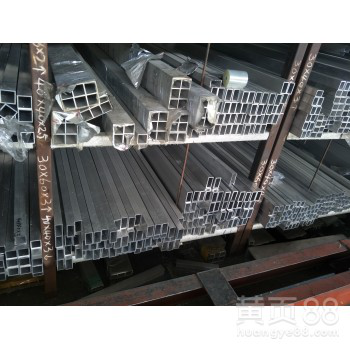 天津方铝管大规格铝型材方管定做装饰铝合金方管