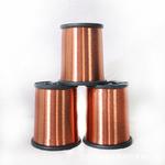 直销漆包铜线绝缘高温单芯铜线彩色漆包线耐热电磁线导电线