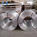供应直径12MM铝杆 永昌铝业 复绕铝杆 脱氧铝杆 电工圆铝杆