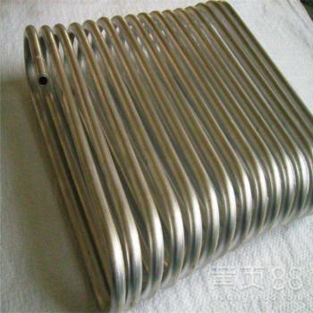 国标1060铝盘管汽车蒸发器专用铝盘管制冷盘铝管批发