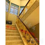 2018复式楼楼梯栏杆屏风隔断图片
