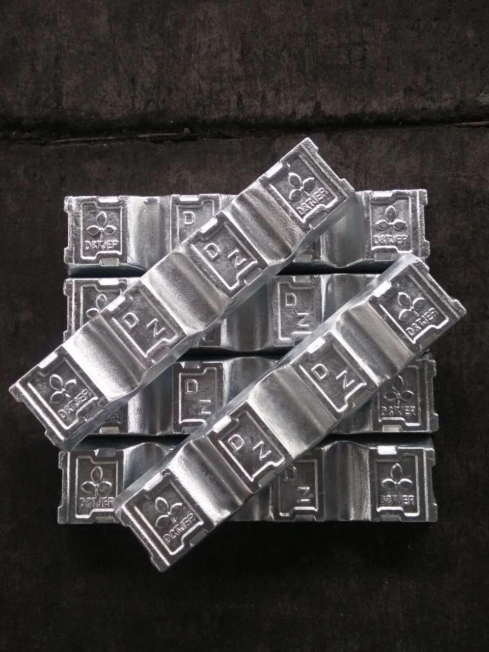 压铸锌合金锭 ZAMAK#3 金亿铝亿 浙江宁波