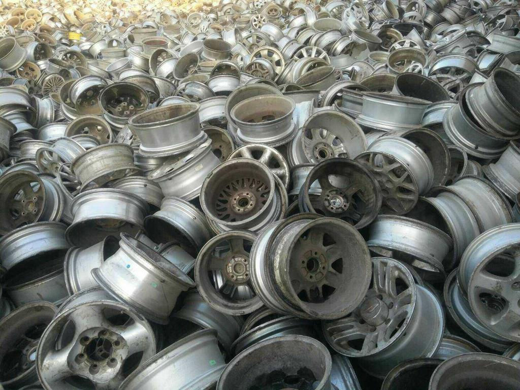 大量收购废旧汽车铝轮毂