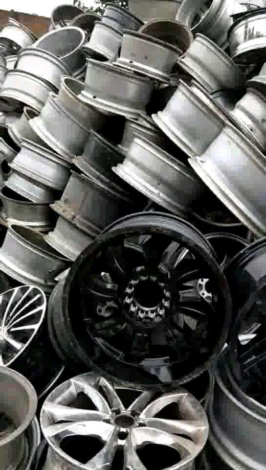 大量收购汽车轮毂亮铝线