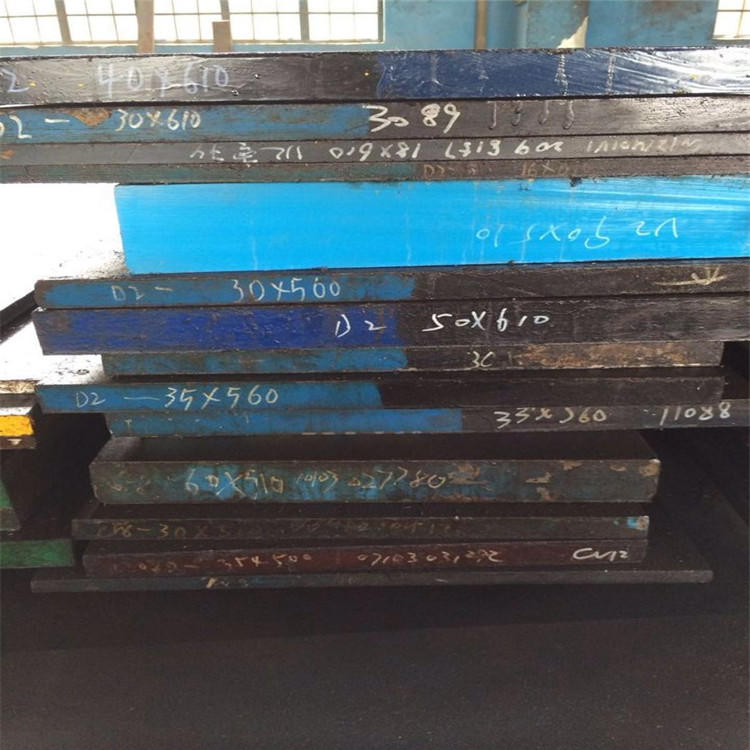 SKD61热作模具钢 钢板SKD61圆钢 板材SKD61毛圆