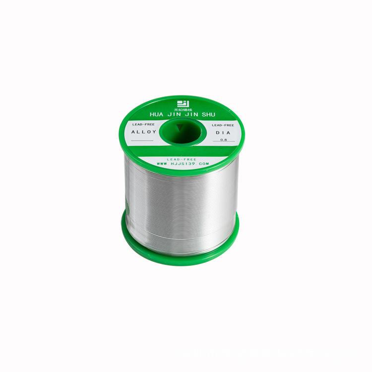 厂家直销无铅焊铝锡丝 可焊性好焊点光亮 松香芯镀镍焊锡线