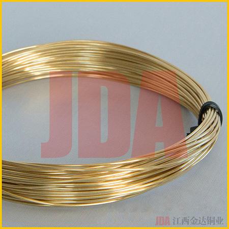 专业生产黄铜线H75 H80 H85 H90 H95国标 铜线黄铜丝【金达铜业】