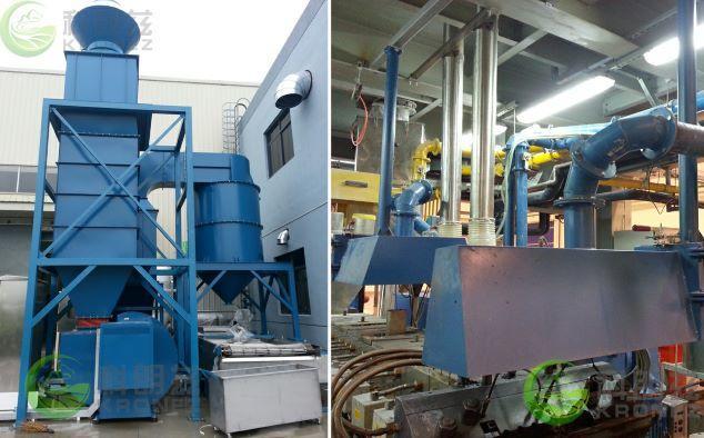 科朗兹高效湿式除尘器,工厂车间粉尘净化好帮手