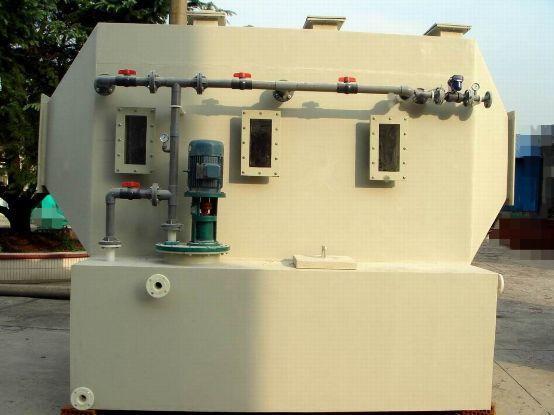 供应 山东废气处理设备厂家 交叉流式洗涤塔