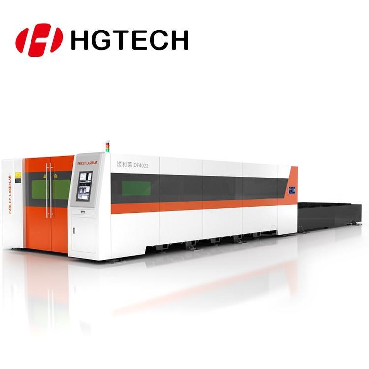 华工法利莱厚板零坡口激光切割机不锈钢铝材大功率快速分割
