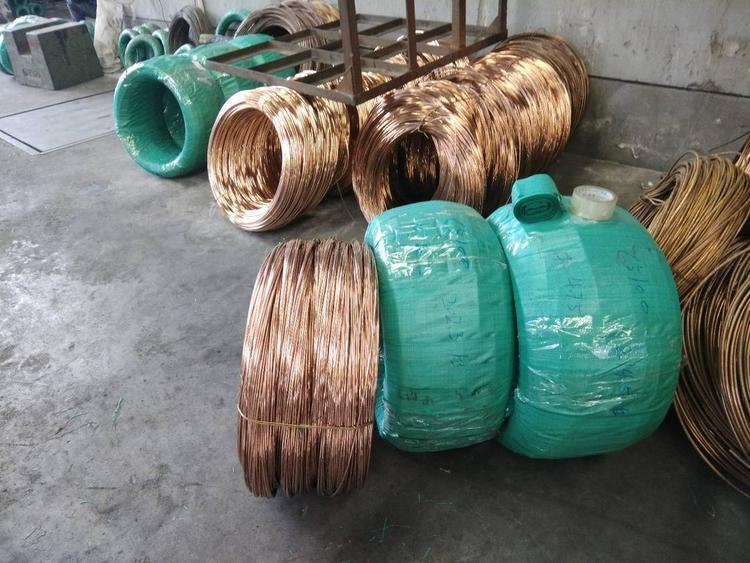明海铜业直销 硬态 磷铜丝 C5191 Qsn6.5-0.1 进口产品国产价格