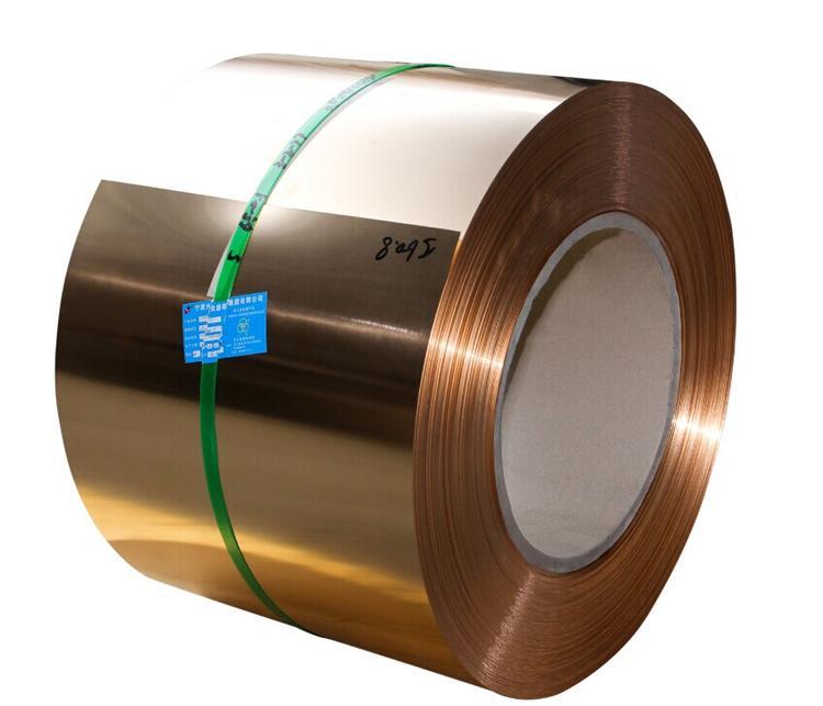 国民铜业 供应(兴业产)各规格磷青铜带 宽度可分切≥1.5mm