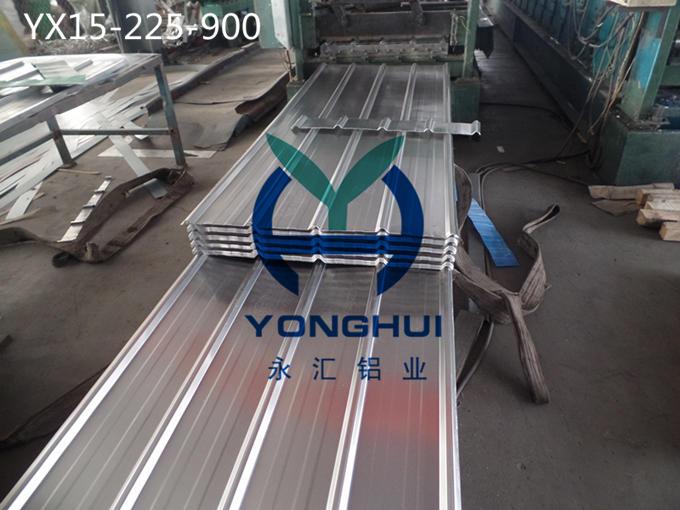 山东平阴永汇铝业生产销售900型压型铝板 900型瓦楞铝板