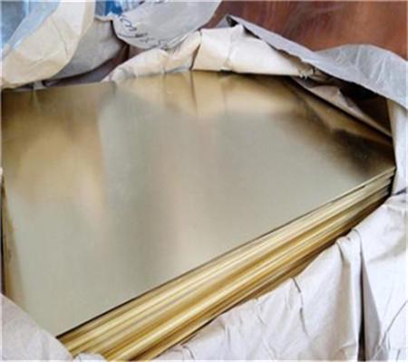 供应H65冲压用黄铜板,高塑性拉伸用黄铜板