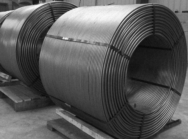 安阳聚丰长期供应硅和钙包芯线