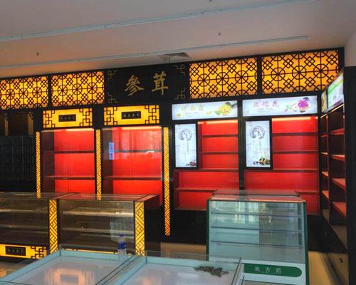 山东展柜设计公司,济南商场货柜制作,烤漆展柜,展柜制作公司
