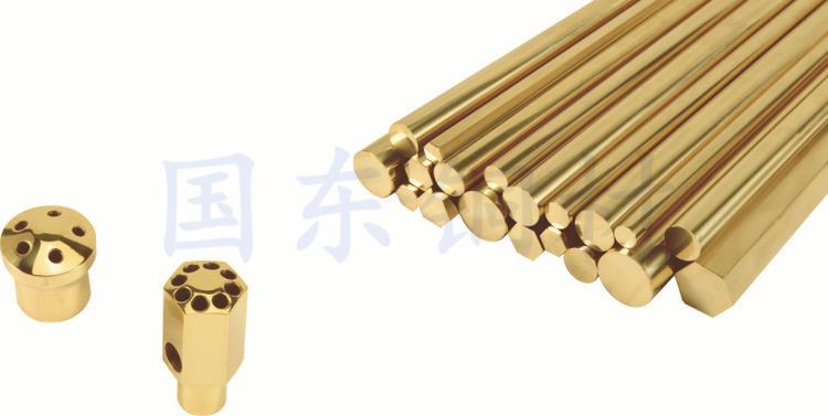 国东厂直销国标黄铜空调专用铜棒φ2.0-φ50.0可定制异型铜材