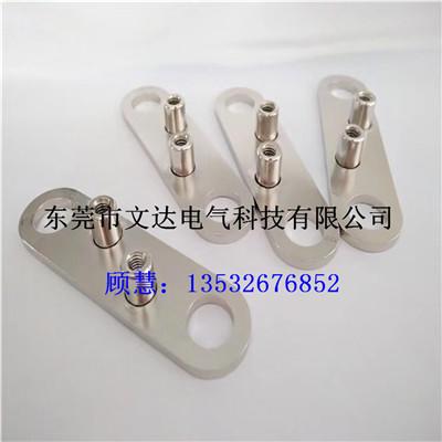 广东大电流硬铜排功能铜条 无氧t2紫铜排 定制生产喷塑铜排连接件