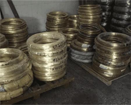 国标H62黄铜线,R角黄铜扁线供应商