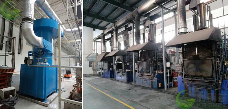 科朗兹热处理油烟废气治理净化环保工程