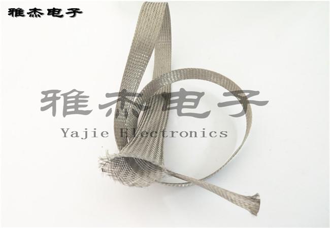 镀锡铜编织网管,裸铜编织屏蔽网带