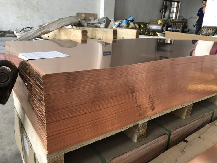 国民铜业 供应(兴业产)各规格T2紫铜板