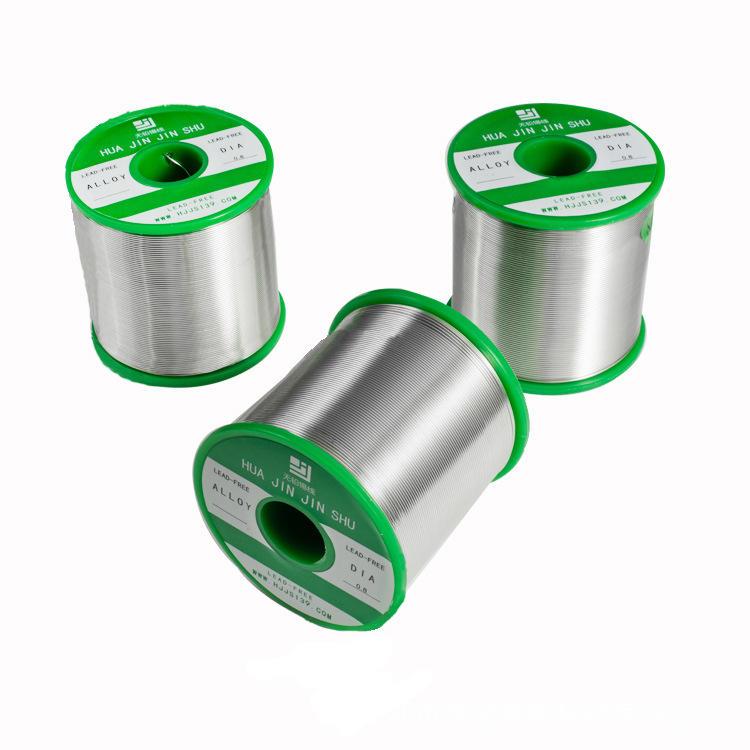 华金锡厂批发无铅低温实芯锡线ROHS2.0标准 138度无铅环保焊锡丝