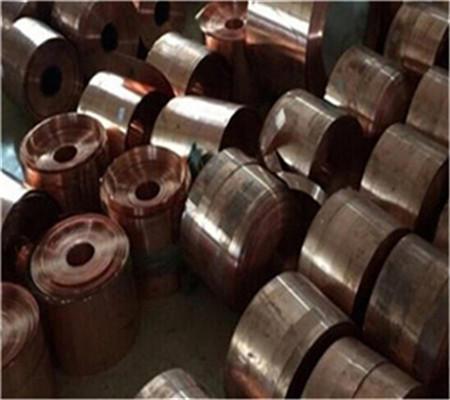 国标磷铜带  QSN7-0.2拉伸用磷铜带抗磁性