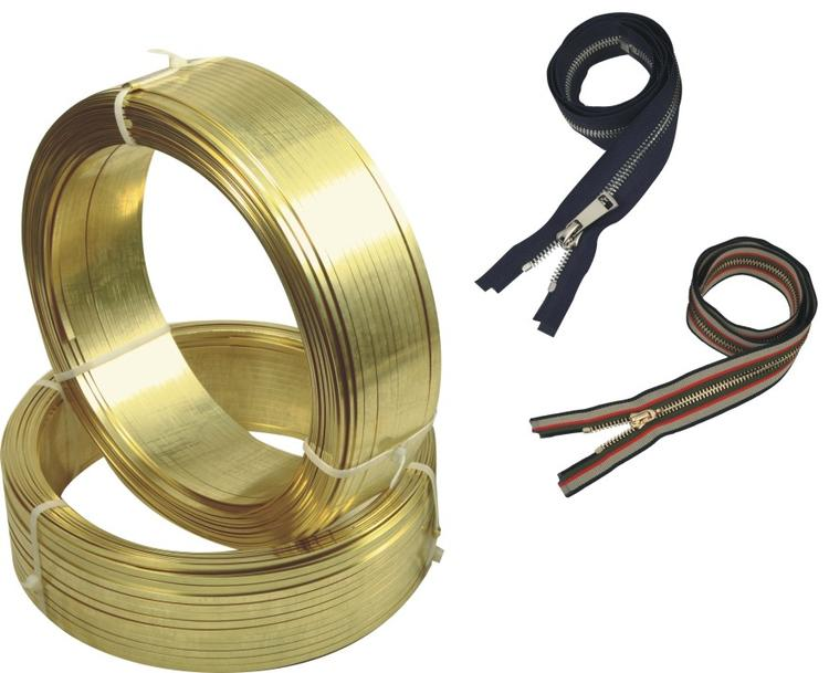 H65黄铜扁线适用于拉链、鞋类及包箱拉链