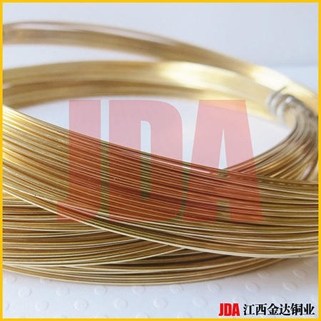 专业生产黄铜线H62 H65 H68 H70 H90国标 铜线黄铜丝【金达铜业】