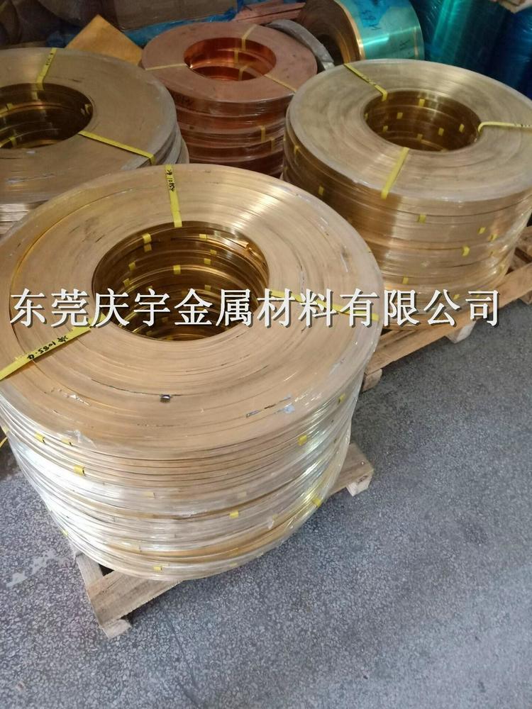 供应C2680黄铜带 进口高精C2680黄铜带(H65)