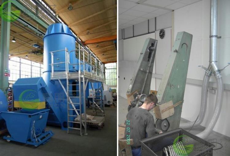 科朗兹环保专注铝镁产品切割打磨粉尘过滤文丘里湿式除尘器