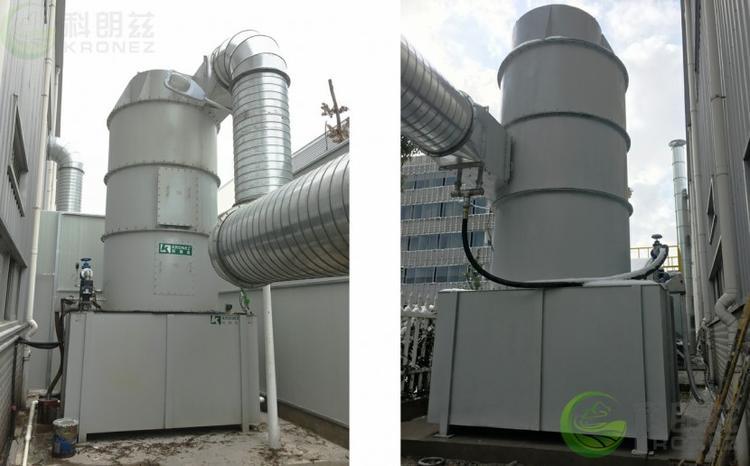 科朗兹热处理高温油烟废气过滤专用KSW-T文丘里湿式除尘器