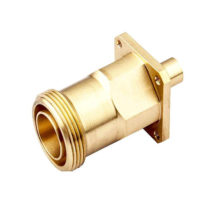 黄铜零件CNC加工厂家按需定制-长鸿精密